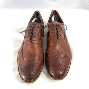 Johnston&Murphy Oxford Brown Leather Shoes 12M